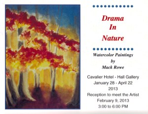 Mack Rowe invite