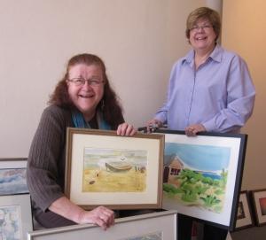 Matalie and Sue at Bozart