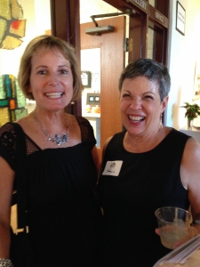 Elaine Nunnally with Chairperson, Pam Roland