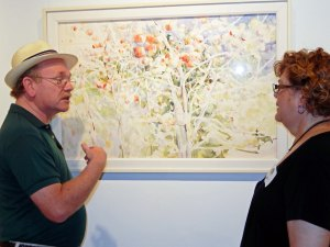 John Hancock discusses his work with Sue Stover
