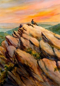 Humpback Rocks by Peg Sheridan