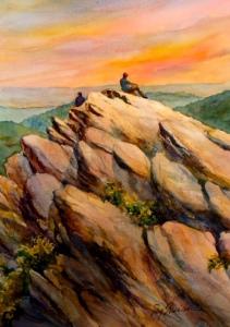 Humpback Rocks by Peg Sheridan
