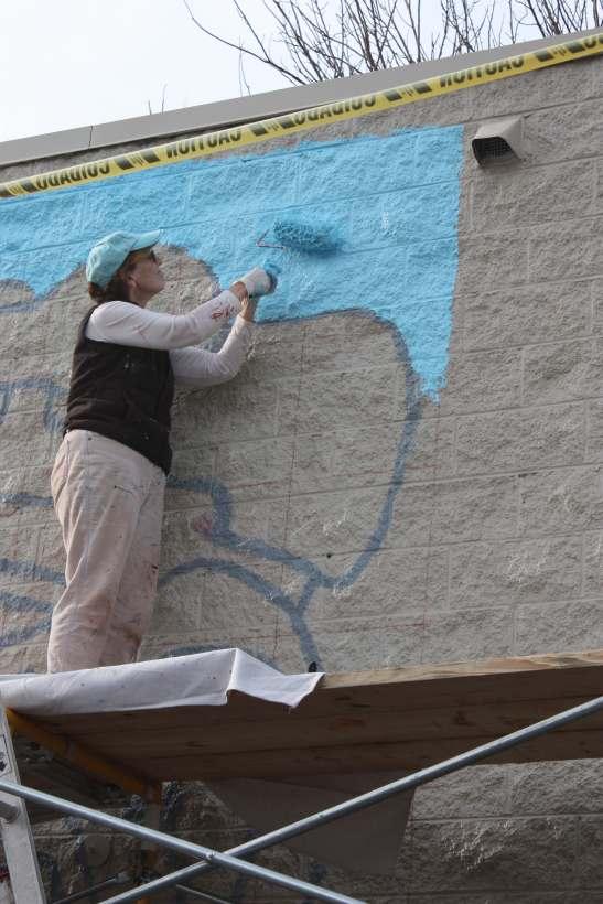 Judi mural