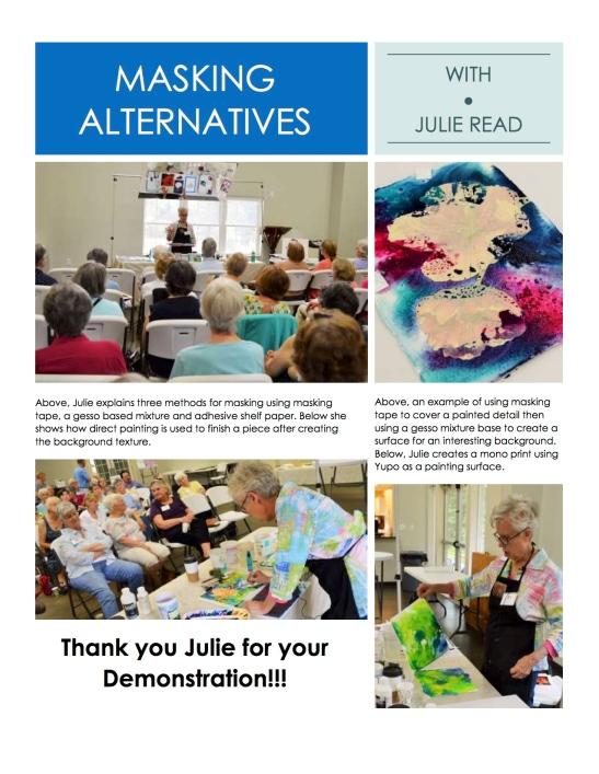 Julie Read Demo