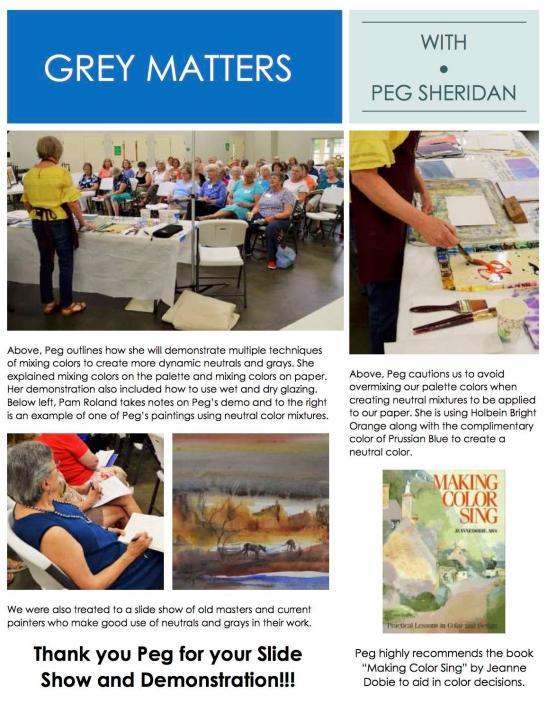 Peg Sheridan Program